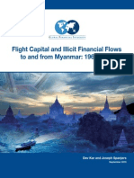 Flight Capital and Illicit Financial Flows to and from Myanmar