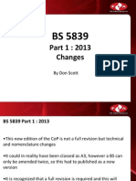 All Change for Bs 5839-1