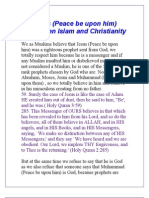 Jesus (Peace be upon him) between Islam and Christianity