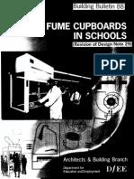 Fume Cupboards in Schools