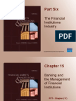 Chapter 15 FIN304 Bank Mgmt