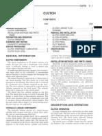1999 Jeep TJ Wrangler Service Manual - 06. Clutch
