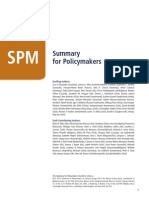 IPCC (2013) AR5WG1 Summary for Policy Makers (SPM)