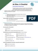 evaluating-web-sites-checklist-form