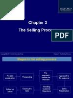 Chap 3 Selling Process