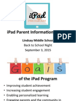 iPad Parent Presentation 932015