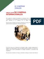 Gestión de Compras Internacionales