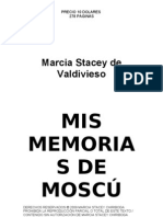 Mis Memorias de Moscu Introduccion