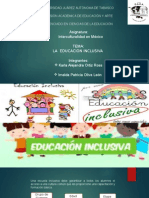 7.RESUMEN LA  EDUCACIÓN INCLUSIVA