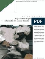 Reparación de Piezas de Poliéster Reforzado Sin Acceso Directo