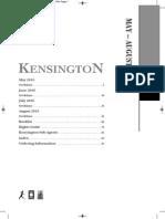 Kensington - Summer 2016 HC & TP