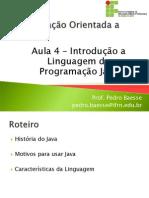 Aula 03 - Introducao Ao Java