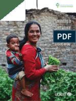 Informe sobre Infancia de UNICEF