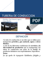Tuberia de Conduccion_ logistica del transporte