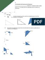 Guía Del Teorema de Pitágoras