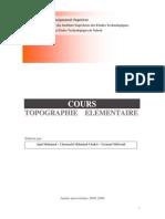 Cours_topo Elementaire Mohamed AJMI Et Autres 11-04-2006