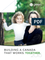 Green Party of Canada - 2015 Platform