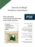 05 IIS Bourdieu y Otros El Oficio de Sociologo