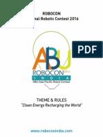RoboCon 2016 RuleBook