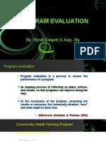 Evaluation a community Health Program.ppt