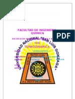 Facultad de IngenierÍa Quimica