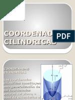 COORDENADAS CILINDRICAS