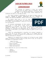 Comunicado Del14!04!2014