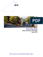 Warrenton Water and Sewer Rate Study Report - Final
