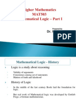 Mathematics logic fall sem part1