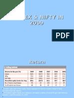 Sensex & NiFTY in 2009