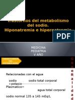 Trastornos Del Metabolismo Del Sodio y Potasio