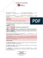 Modelo Contrato Aparceria