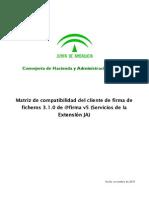 Matriz Compatibilidad Extensión Cliente 3_1_0