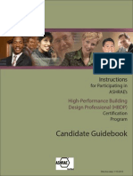HBDP Certification Catalog