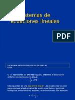 Sistemasdeecuacioneslineales1 (Bajo Determinantes 2x2)