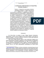 Proceso Contencioso Administrativo en Costa Rica