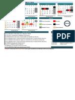 Calendário Acadêmico 1-2014