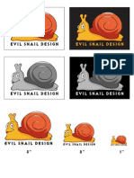 Lab 8 - Evil Snail Logo Style Guide