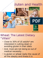 Wheat Gluten and Health Powerpoint Presentation