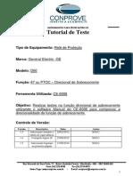 Tutorial Teste Rele GE D60 Direcional de Sobrecorrente