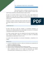 Peritaje administrativo peruano