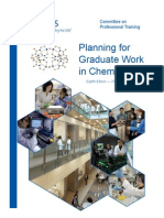 Planning 2 for Graduate Work in Chemistry