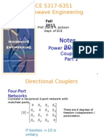 Power Dividers and Couplers Part 2