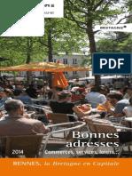 Bonnes Adresses Tourisme Rennes