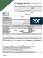 Solicitud de Transferencia de Fondos Planilla Multiple