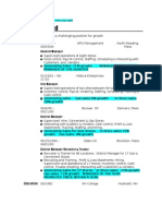 Jobswire.com Resume of MarieBamford