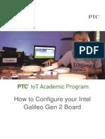 Tutorial de programación intel galileo 1