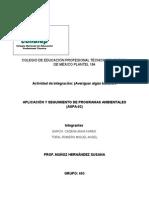 APLICACIÓN Y SEGUIMIENTO DE PROGRAMAS AMBIENTALES (ASPA-02)