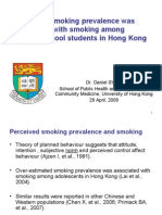 Perceived Smoking Prevalence Was Associated With Smoking