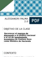 Alessandri 2.0, Segundo Gobierno de Arturo Alessandri